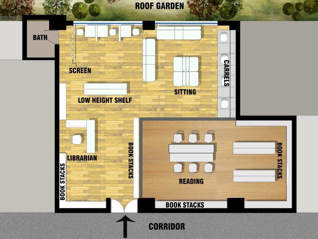 3D Layout Plan